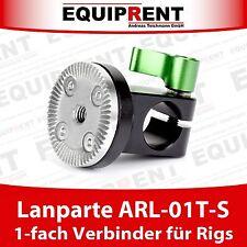 Lanparte ARL-01T-S 1-fach Verbinder für 15mm Rods mit ARRI Verzahnung (EQC59)