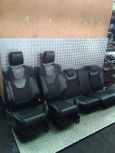 FORD FOCUS ST2 RECARO HALF LEATHER FRONT + REAR SEATS  2011-18