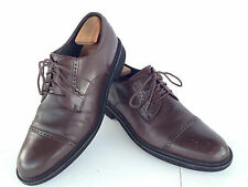 DRESSPORTS BY ROCKPORT Brown Cap Toe Dress Shoes APM7488D Mens 10M         D31(5