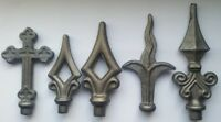 Wrought Iron Gate Components Railheads Tops Sear Heads