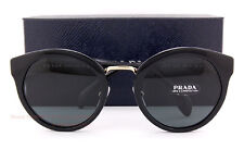 Brand New Prada Sunglasses PR 05TS 1AB 1A1 Black/Solid Gray Women