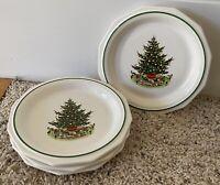 "Pfaltzgraff  CHRISTMAS HERITAGE 6 3/4"" Bread Plates Set(s) of 4"