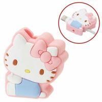 Hello Kitty Lightning Cable Mascot Pink Sanrio Kawaii Cute F/S NEW