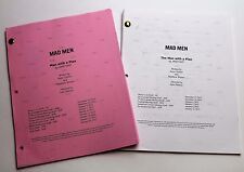 Mad Men * 2x DIFFERENT 2012 TV Script DRAFTS * Jon Hamm * Season 6, Episode 7