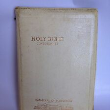 Holy Bible Concordance Cathedral of Tomorrow Humbard 1961 Zipper KJV white