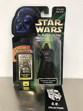 Star Wars The Power Of The Force Darth Vader w/ Lightsaber NEW SEALED