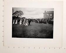 1905 Aufdruck + Text Helston Flora Tag The Fell Tanz