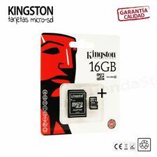 Tarjeta microSD Kingston 16/32/64 GB clase 10 - memoria micro SD camaras moviles 06kingstonclass1016gb16gb