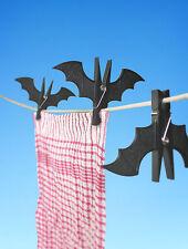 SUCK UK Spooky Bat Pegs, Black, 14cm - 1 piece