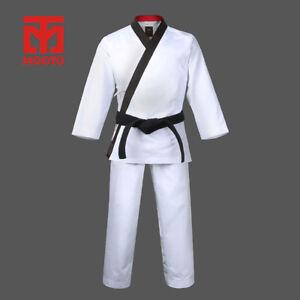 New Mooto Grand Master Taekwondo Hapkido Dang Soo Do Hangul Uniform Dobok Gi Wht