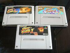 Street Fighter II 2 / Turbo/Super Japanese SFC Super Famicom