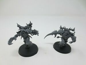 Warhammer Chaos Space Marines 2x Greater Possess Made Unpainted Plastic 40k G301