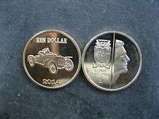 NL Sint-Eustache 1 dollari 2014 Paesi Bassi Antille-auto/RUSSO-BALT c24-30