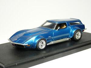 Kentucky Legend 1/43 1969 Chevrolet Corvette C3 Wagon Handmade Resin Model Car
