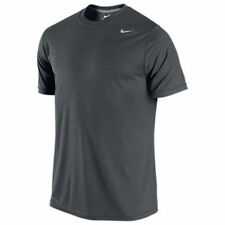NIKE LEGEND DRI FIT SHORT SLEEVE TEE 718833-060 GRAY LARGE (FAST FREE SHIPPING)
