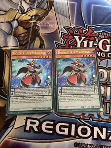 Yu-Gi-Oh 2x Ultra Rare Double Iris Magician 1st Edition PEVO-EN003 (NM)