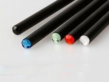 STOCK 50 PEZZI Matita nera con strass colorato ideale per bomboniera segnaposto