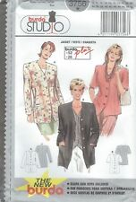 burda 3756  Misses' Jackets 8 to 26 *Extremely Rare*    Sewing Pattern