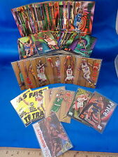 1997-98 SKYBOX BASKETBALL - Z FORCE SERIES I (110) NBA CARDS + (14) CHASE CARDS