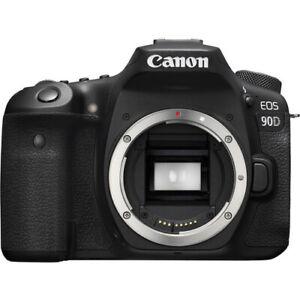 Canon EOS 90D DSLR Camera Body Only Multi (Body Box) No extra cost