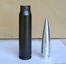 30mm Replica projectile, machined solid ALUMINUM, authentic size A-10