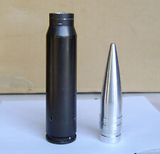 30mm Dummy projectile, machined solid ALUMINUM, pgu-15/b, authentic size Warthog