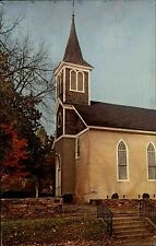Hillsborough North Carolina vintage postcard ~1960/70 Presbyterian Church Kirche