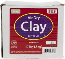 Amaco Air-Dry Modeling Clay 10lb-Gray, 4630-3C