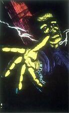1970s Frankenstein's Monster black light poster replica magnet - new!