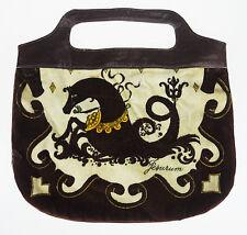 Vtg European Jesurum Mythical Fish Tail Horse Seahorse Purse Clutch Handbag