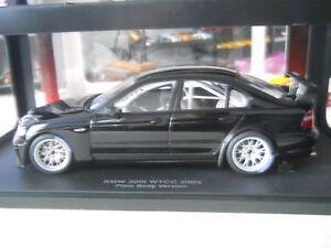 Autoart BMW 320I WTCC plain body version Black 1:18 Diecast