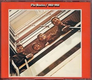 """2 CDs """" THE BEATLES - 1962-1966 -  RED ALBUM """"  26 SONGS (CAN'T BUY ME LOVE)"""