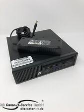 HP EliteDesk 800 G1 USDT PC, i5-4590S 3,0GHz, 8GB RAM, 320GB HDD, USB 3.0 DVD-RW