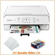 Inkjet Printer Canon TS6020 Wireless w/ 5 Pack Edible ink & 100 Wafer Sheets New