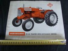 Brochure trattore Allis Chalmers ED 40