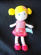 Doudou et compagnie poupee UNICEF coraline doll DC2656 22cm  tbe