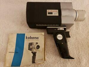 Vintage 1960's KOBENA 421 Super 8 Movie Film Camera with Manual Japan