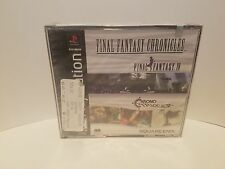 Final Fantasy Chronicles (PS1, 2001) ***BLACK LABEL - FACTORY SEALED!!!***