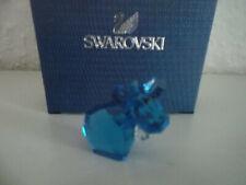 Swarovski figura lovlots mini mo en azul-turquesa, personaje de vidrio