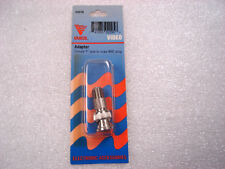 Vanco VAD18 BNC MALE TO F CONNECTOR, New in Package