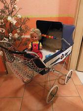 schöner alter DDR Puppenwagen Kinderwagen 60er 70er Jahre Deko Spielzeug Puppe