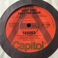 "TAVARES...DON'T TAKE AWAY THE MUSIC - - 1977 Australian A PROMO 7"" 45 Funk Soul"
