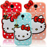 COQUE ETUI COVER 3D SILICONE HELLO KITTY SAMSUNG GALAXY A3 S3 S4 S5 S6 NOTE 3 4