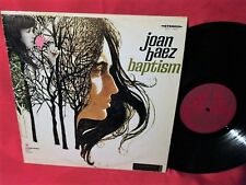 JOAN BAEZ Baptism LP 1969 AUSTRALIA MINT- First Pressing STEREO