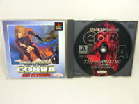 COBRA THE SHOOTING Space Adventure PS1 Playstation Japan Game p1