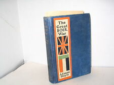 THE GREAT BOER WAR A.CONAN DOYLE SOUTH AFRICA VINTAGE FIRST ED.  BOOK  MAPS