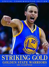 Striking Gold Golden State Warriors 2015 NBA Championship Book (Hardcover)