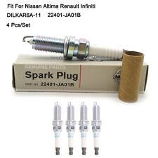 DILKAR6A-11 Iridium Spark Plugs 22401-JA01B For Nissan Infiniti Altima Sentra