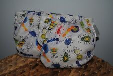 New ListingBlueberry Simplex All In One Cloth Diapers Size Medium Adjustable Bugs Set of 2