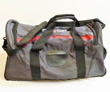 Swiss Gear Black/Gray/Red Large Duffle Luggage Travel Bag- BROKEN SHOULDER STRAP
